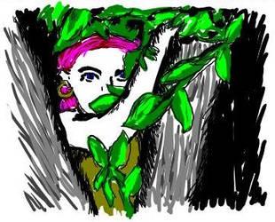 Tree girl by Binkatron5000
