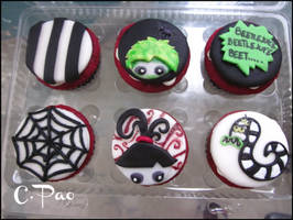 Beetlejuice Cupcakes by CPao