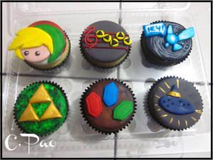 Cupcakes Zelda