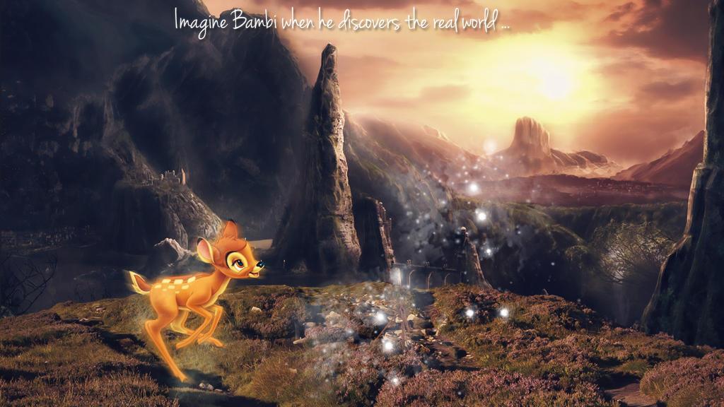Bambi by Shiny-Mel
