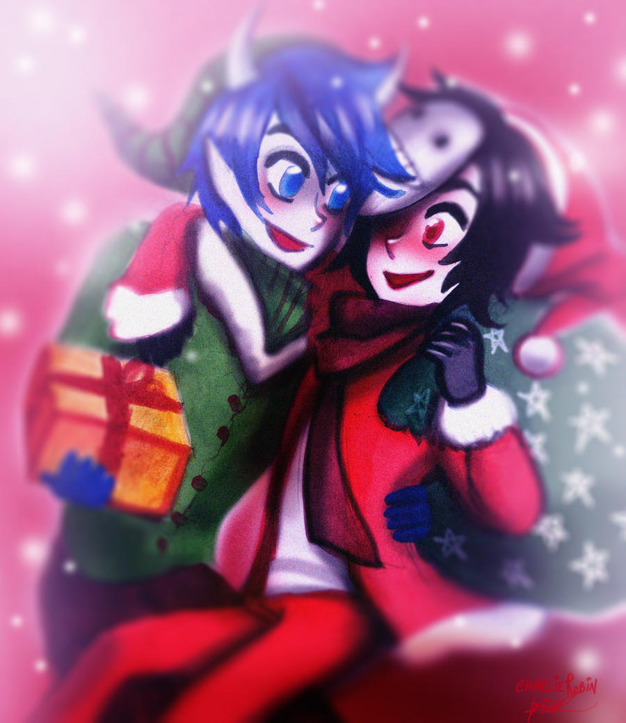 Commission/ Xmas by CharlieRobin