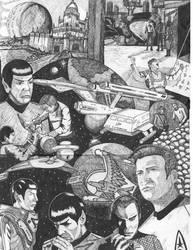 Adventures Of Kirk And Spock by dgtrekker