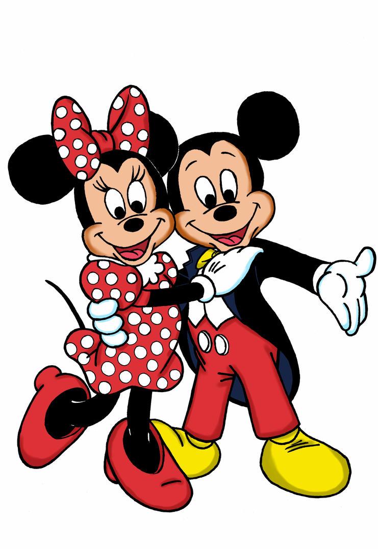 Mickey and Minnie by dgtrekker on DeviantArt
