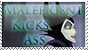 Maleficent Stamp by etchedglass