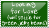 Stamp: Looking for Love by etchedglass