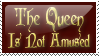 Stamp: The Queen by etchedglass