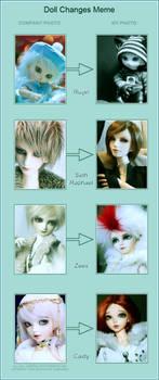 BJD Doll Change Meme