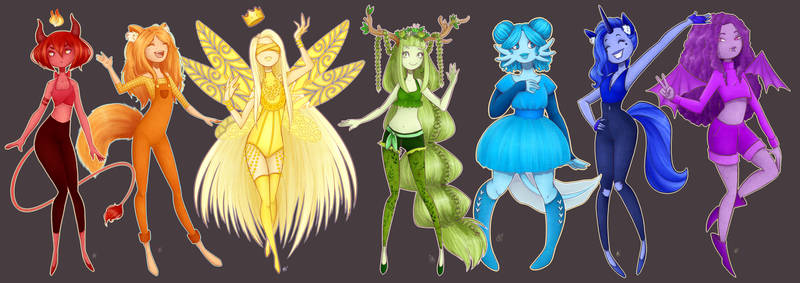 Rainbow's fairies