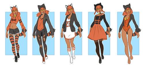 [ Coto ] Sam dress up by Monalushii
