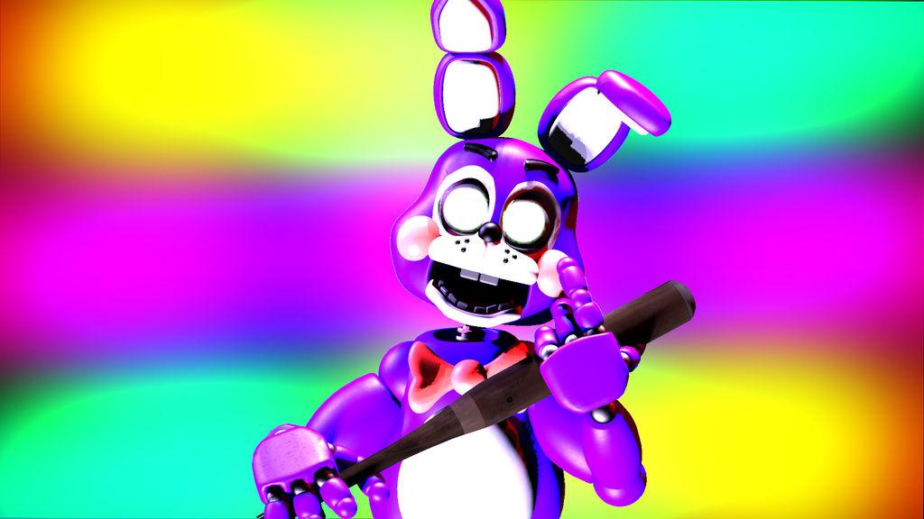 Nightbot Bonnie by Purpletrap787 on DeviantArt