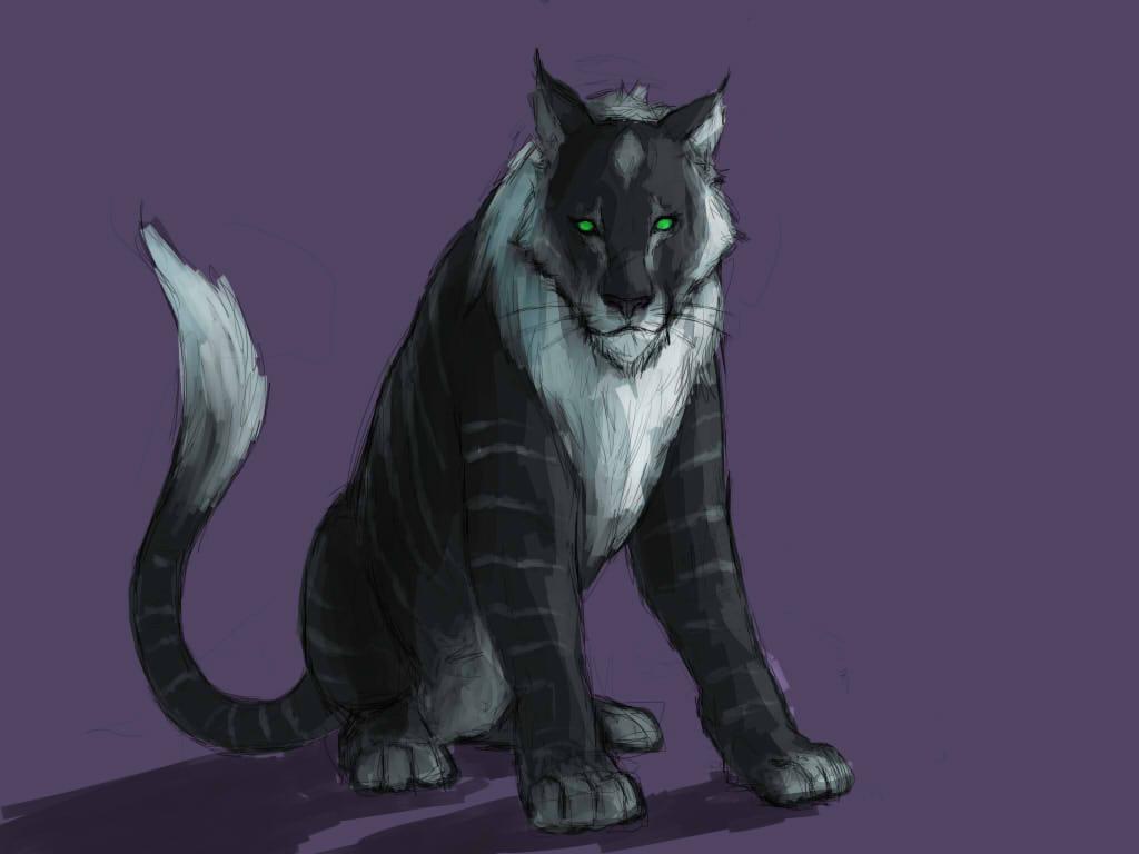 Black Tiger-OC by l-gray-l