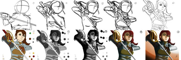 The Wrong Fight: Process Shots