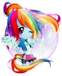 My little Pony - Rainbow Dash by lEdogawa