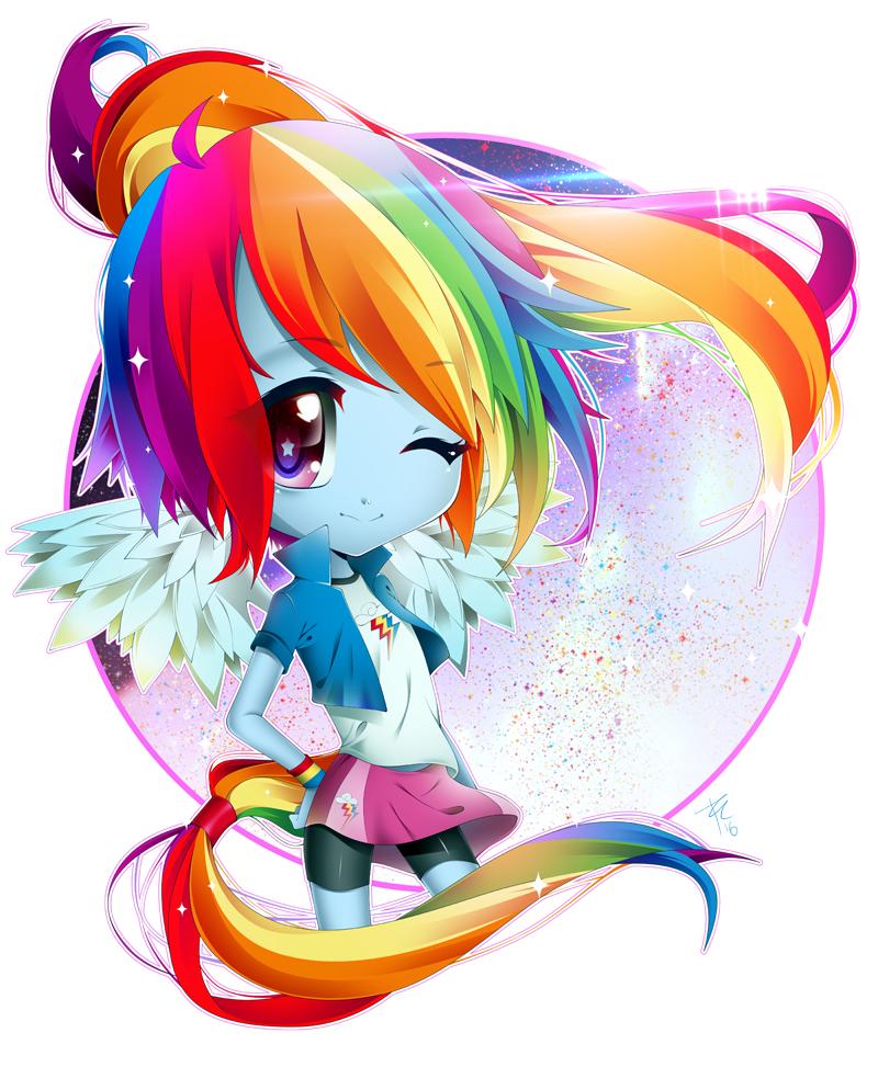 My little Pony - Rainbow Dash by lEdogawa on DeviantArt