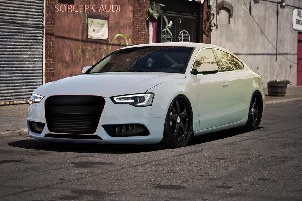 Audi A5 Virtual Tuning By Sorcepk On Deviantart