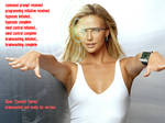 Charlize and the Google Glasses