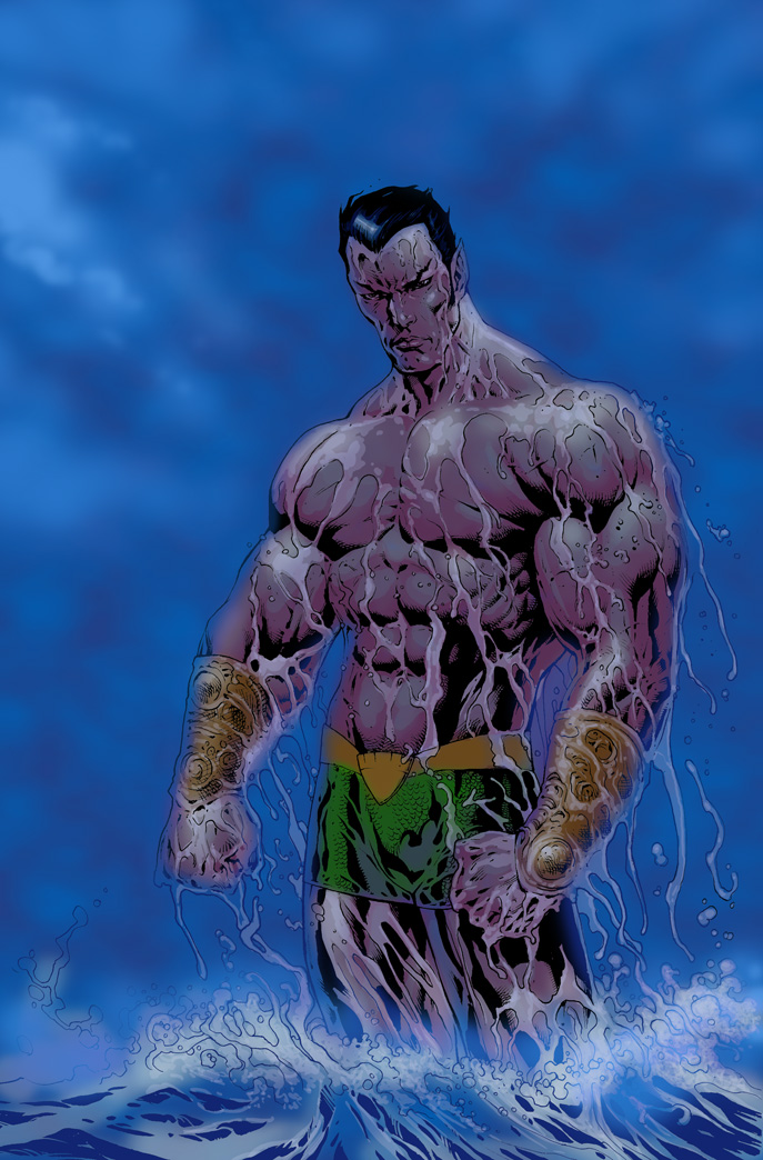 NAMOR the sub-marina by LiamSharp