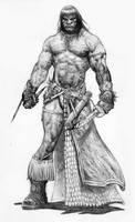 Conan short swords sketch