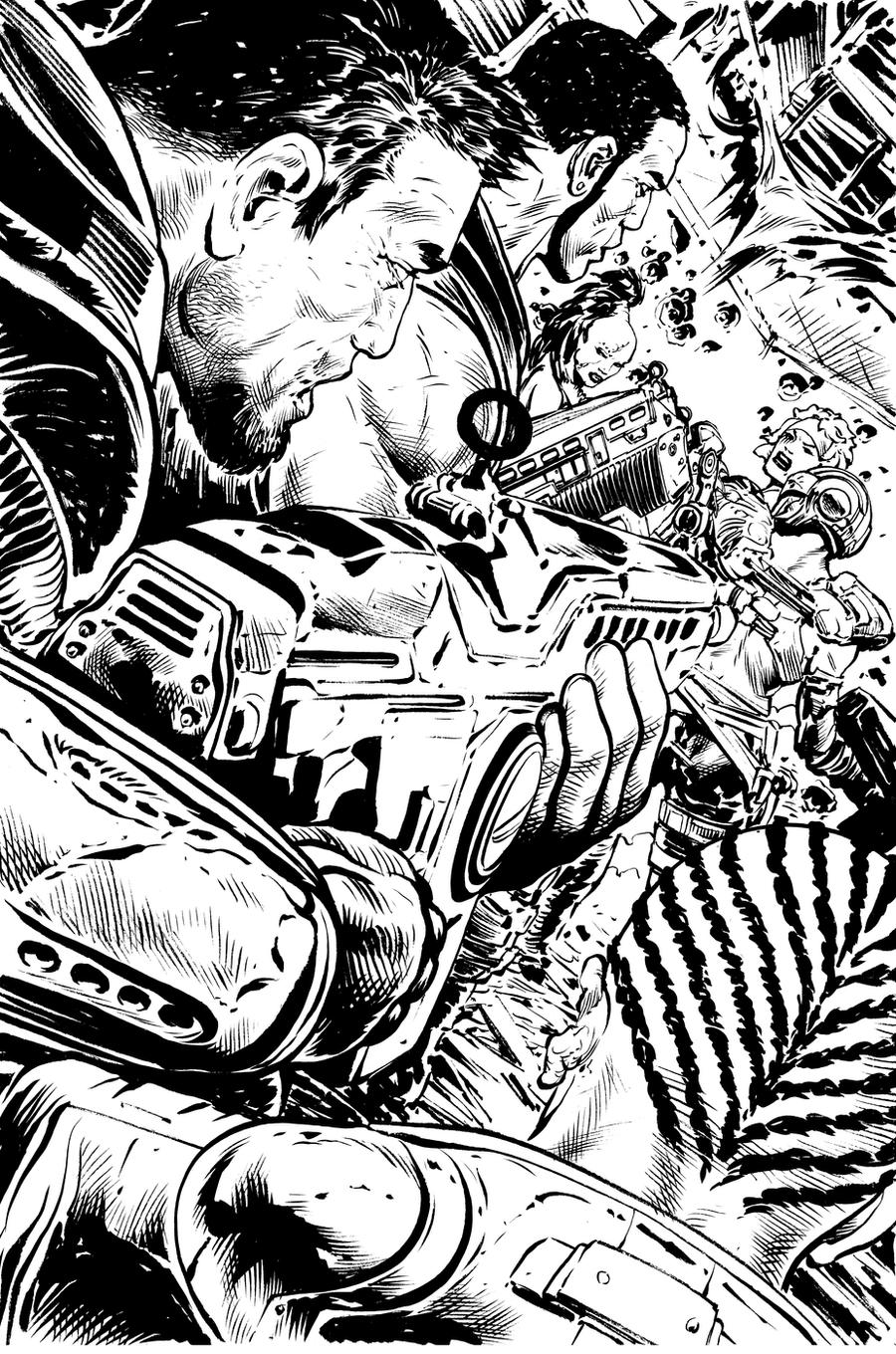 Adult Top Gears Of War Coloring Pages Gallery Images best gears of war issue 10 page 8 by liamsharp on deviantart gallery images
