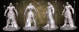 Short swords Conan sculpt