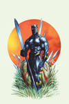 Black Panther cover 2