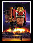 Judge Dredd and Anderson pinup