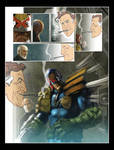 Yet another Judge Dredd page.