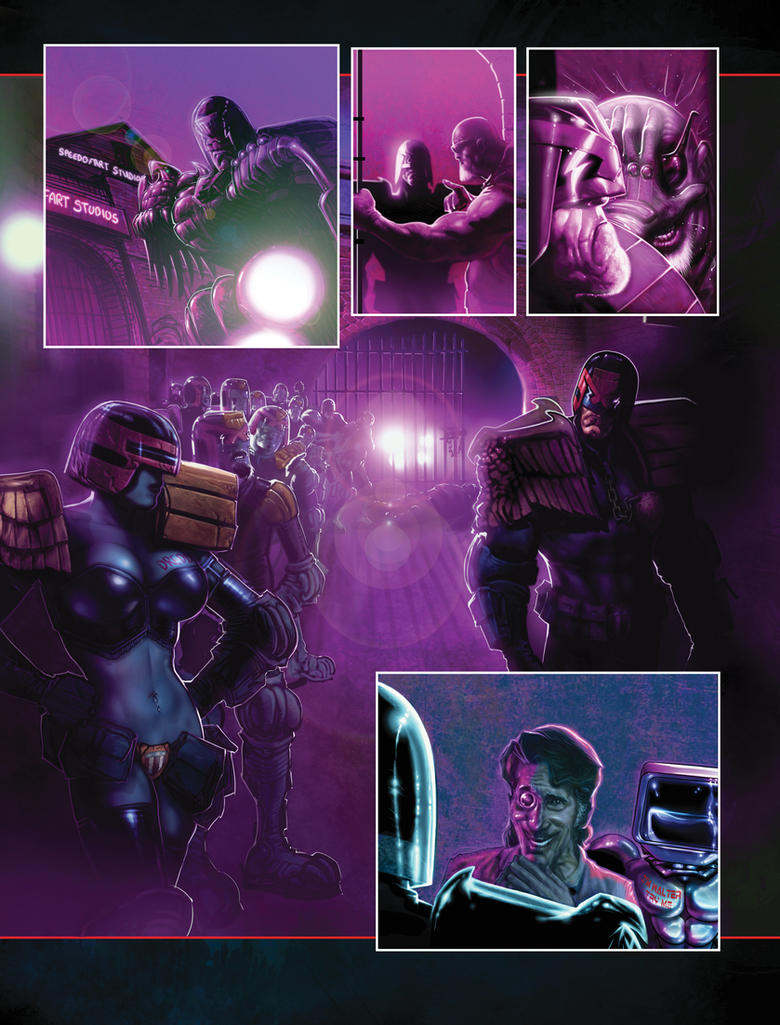 Dredd Set 02 by LiamSharp