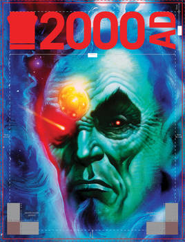 Tharg 2000ad cover