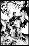 Jim Lee Batman inks finished