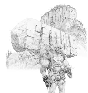 Cap Stone pencil art