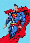 Superman colored