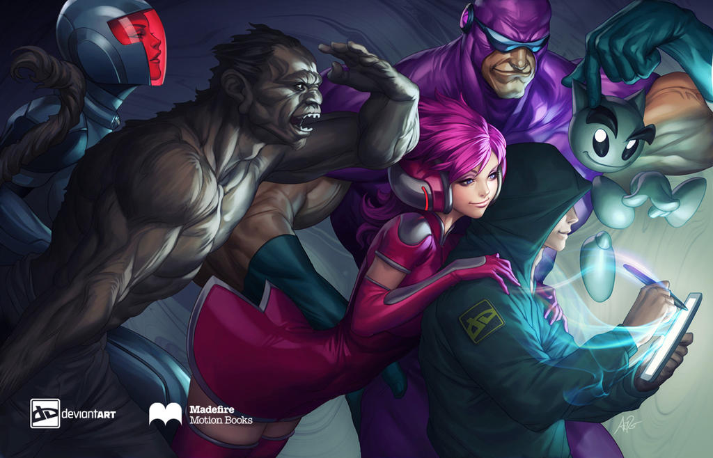 Madefire and deviantART join forces! by LiamSharp