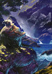 GOTH unused cover painting