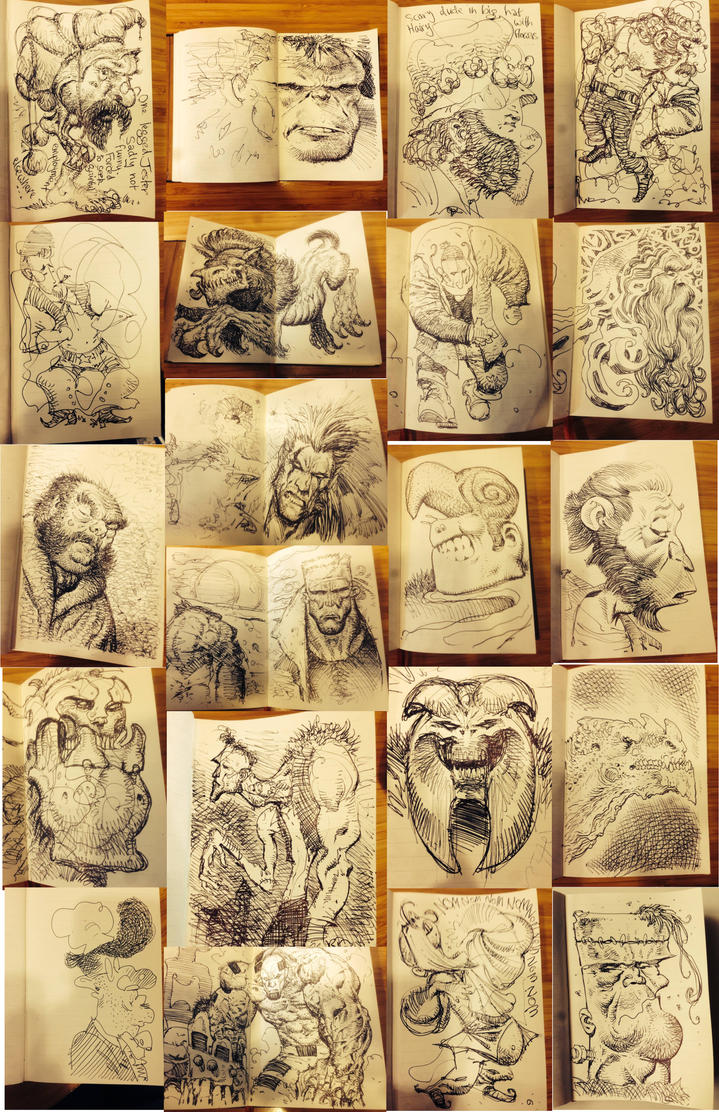 Doodle collection by LiamSharp