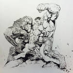 #Hulk vs. The Abomination