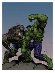 #Hulk vs. Abomination by LiamSharp