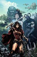 Wonder Woman Rebirth by LiamSharp