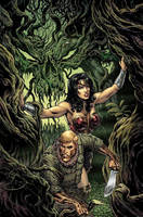 Wonder Woman #5 cover by LiamSharp
