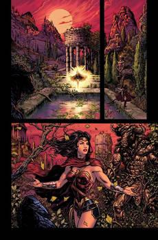 Wonder Woman Rebirth page