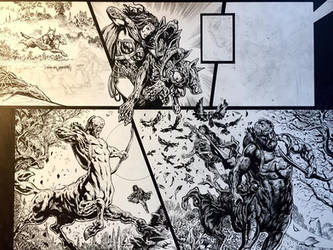 Wonder Woman Spread WIP by LiamSharp