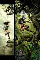 Wonder Woman issue 1 page 3 by LiamSharp