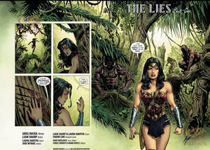 Spread from issue 1 WW