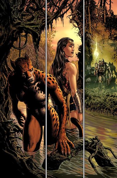 Diana and Cheetah pursued