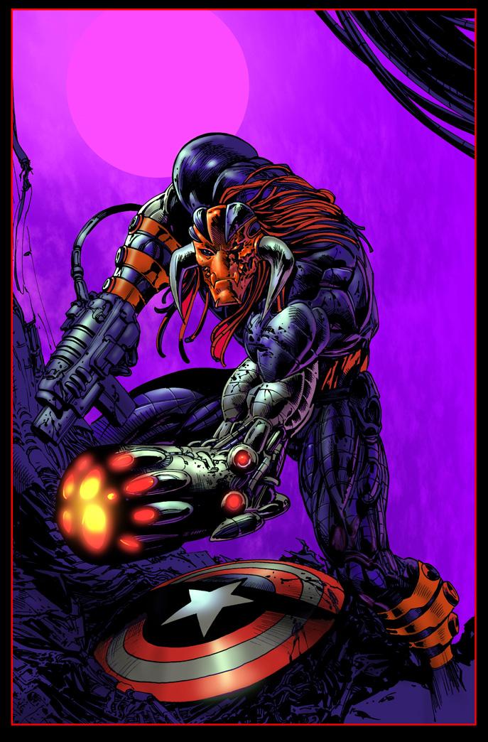 Ultimate Death's Head by LiamSharp