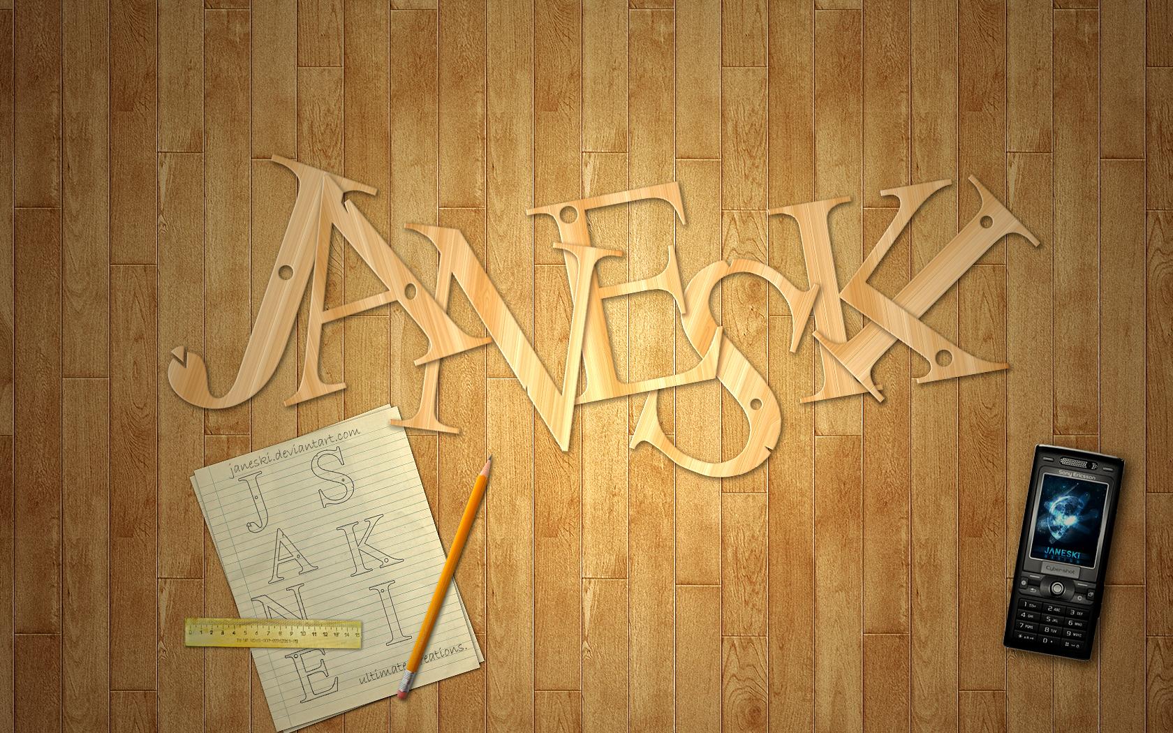 Wooden Letters Wall Art