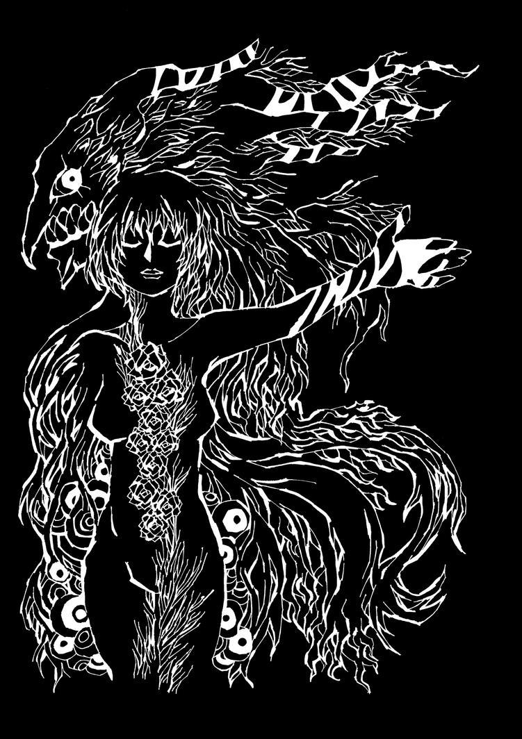 Demon Behind Me by moon-people