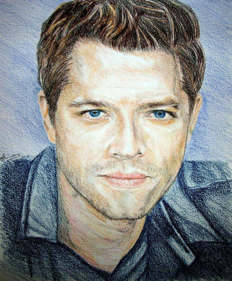 Misha Collins aka Castiel in 'Supernatural.'