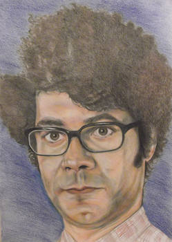 Richard Ayoade - aka Moss from The IT Crowd