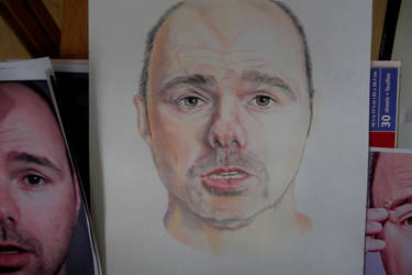 Karl Pilkington Work In Progression - Commission
